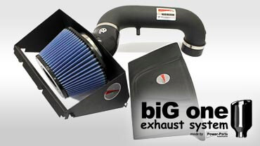 Cold Air PowerBox und biG one Auspuffanlagen