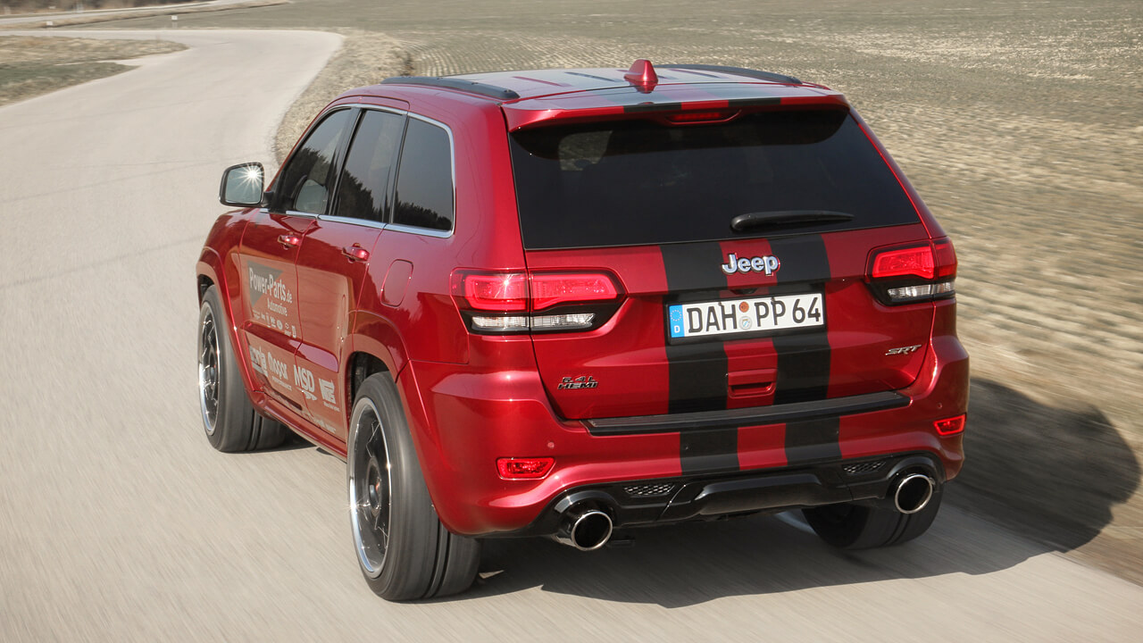 "Jeep Grand Cherokee SRT8 ""Power Parts Edition"""