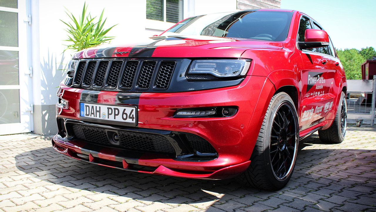 jeep grand cherokee srt8 in der power parts edition. Black Bedroom Furniture Sets. Home Design Ideas