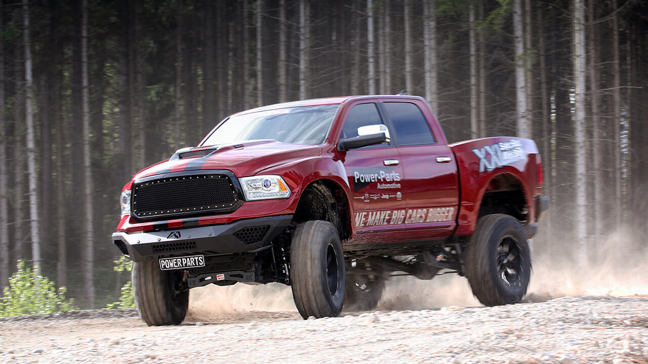 RAM 1500 XXL SuperSize WideBody TTS