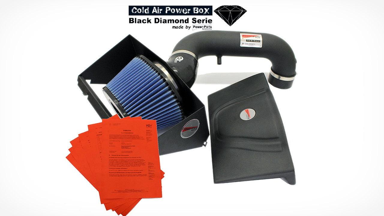 Cold Air Power Box Black Diamond Serie