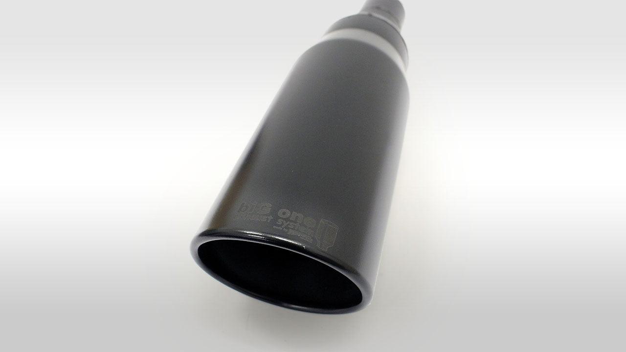 biG One Auspuff black