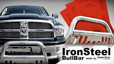 IronSteel Bullbar