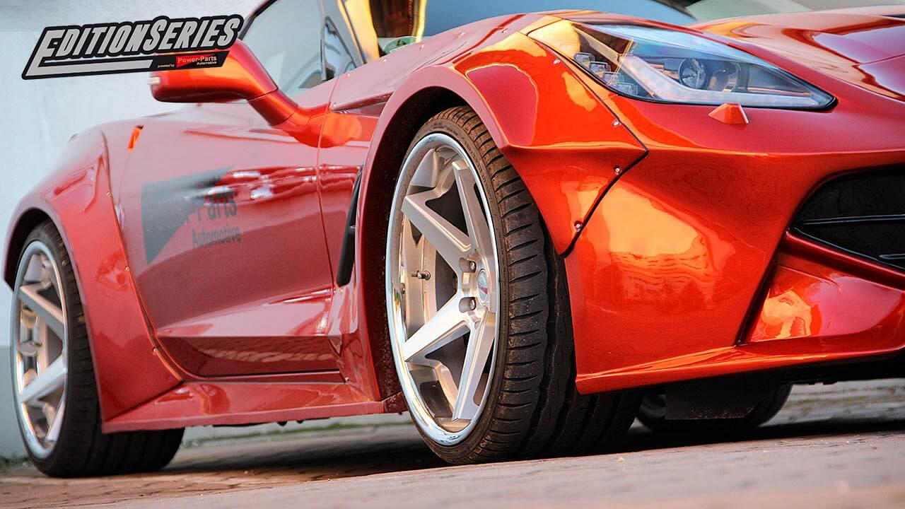 """Corvette C7 Power-Parts """"EditionSeries"""""""