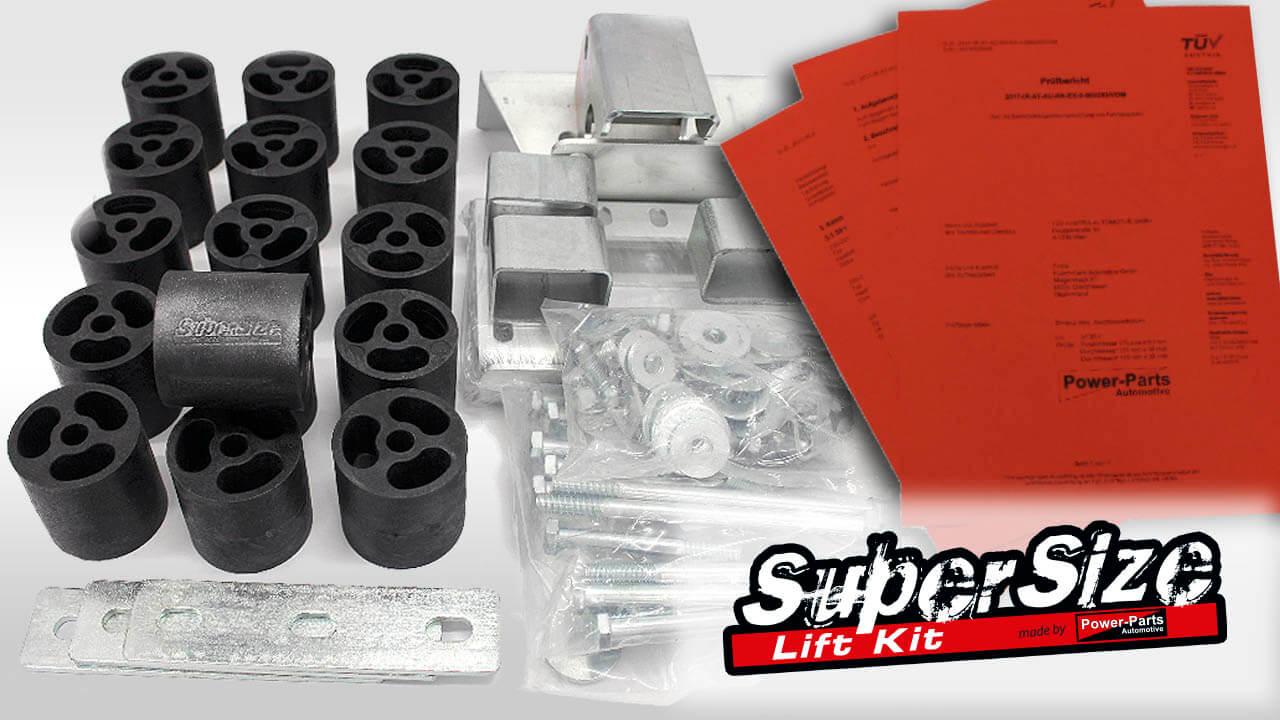 SuperSize Lift Kit 3 Zoll