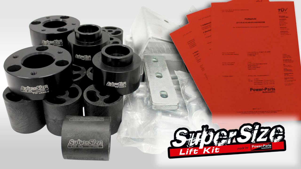 SuperSize Lift Kit 6 Zoll
