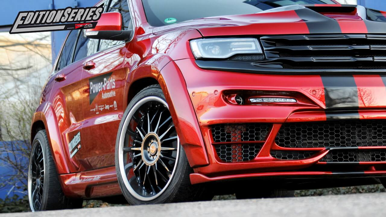 Jeep Grand Cherokee SRT8 Widebody EditionSeries
