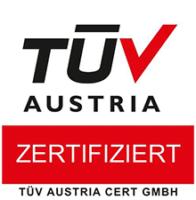 TÜV Austria Zertifizierung
