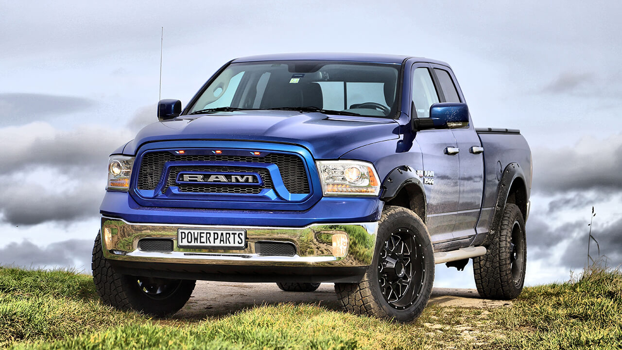 RAM 1500 mit Rebel Style Conversion Kit