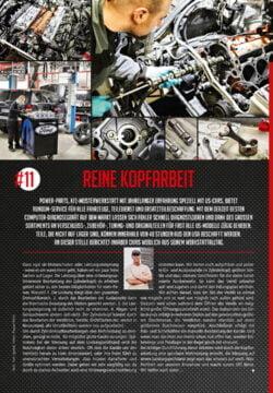 Werkstattbericht, Nr. 11